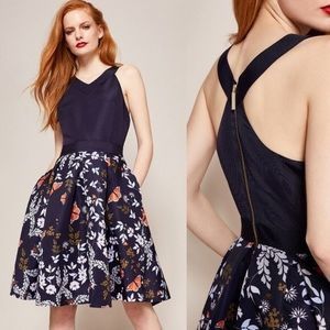 Ted Baker Kyoto Floral Garden Fit & Flare Dress 3